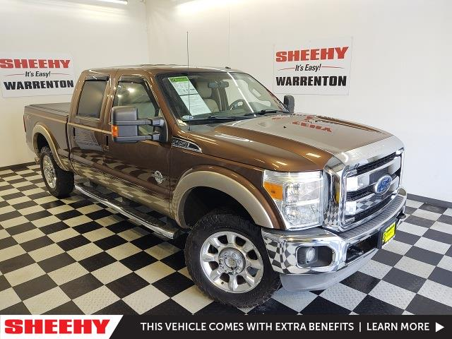 2011 Ford F-250 Crew Cab 4x4, Pickup #YP3761A - photo 4