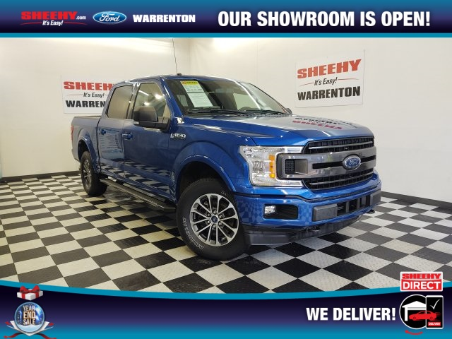 2018 Ford F-150 SuperCrew Cab 4x4, Pickup #YP3767 - photo 1