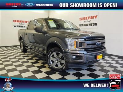 2018 Ford F-150 SuperCrew Cab 4x4, Pickup #YP3785 - photo 1
