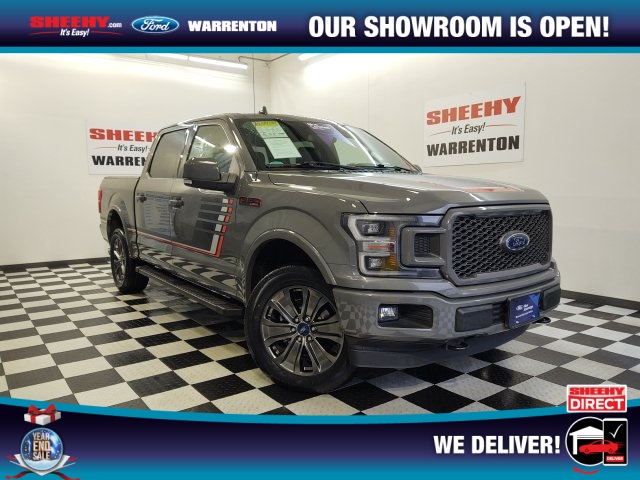 2018 Ford F-150 SuperCrew Cab 4x4, Pickup #YP3795 - photo 1