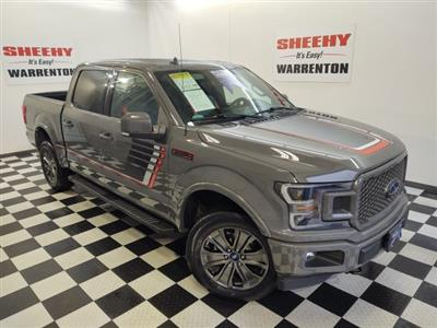 2018 Ford F-150 SuperCrew Cab 4x4, Pickup #YP3795 - photo 4