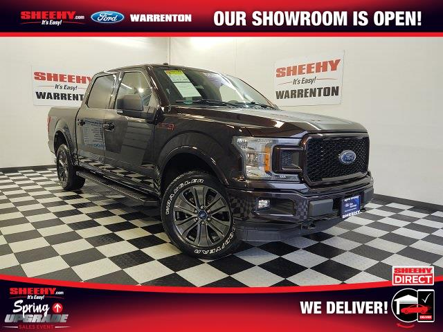 2018 Ford F-150 SuperCrew Cab 4x4, Pickup #YP3799 - photo 1