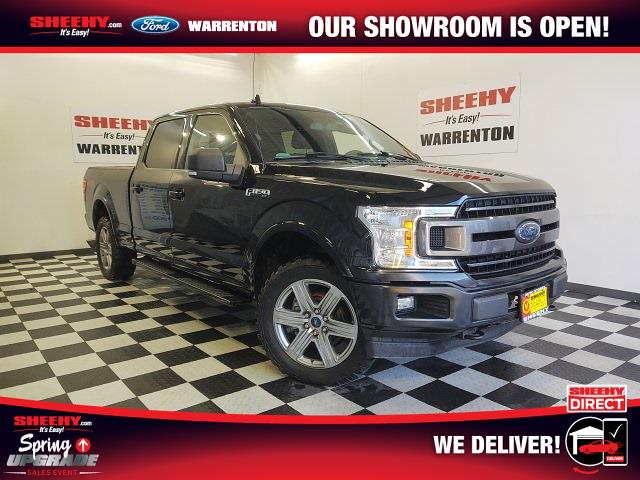 2018 Ford F-150 SuperCrew Cab 4x4, Pickup #YP3832 - photo 1