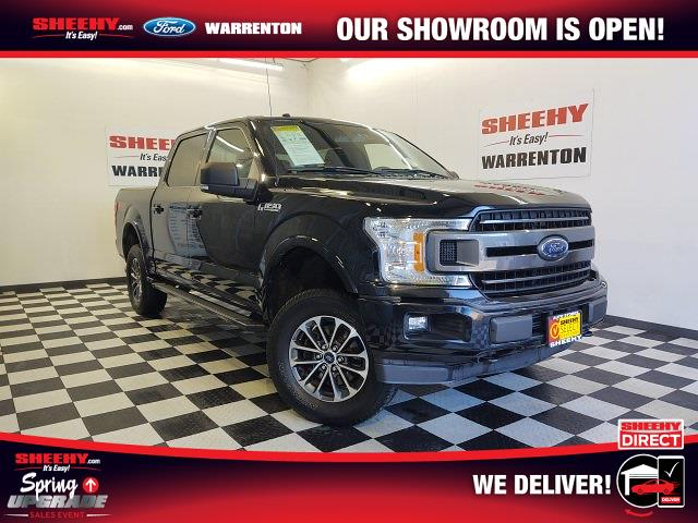 2018 Ford F-150 SuperCrew Cab 4x4, Pickup #YP3839 - photo 1