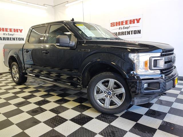 2018 Ford F-150 SuperCrew Cab 4x4, Pickup #YP3858 - photo 3