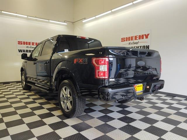 2018 Ford F-150 SuperCrew Cab 4x4, Pickup #YP3858 - photo 6