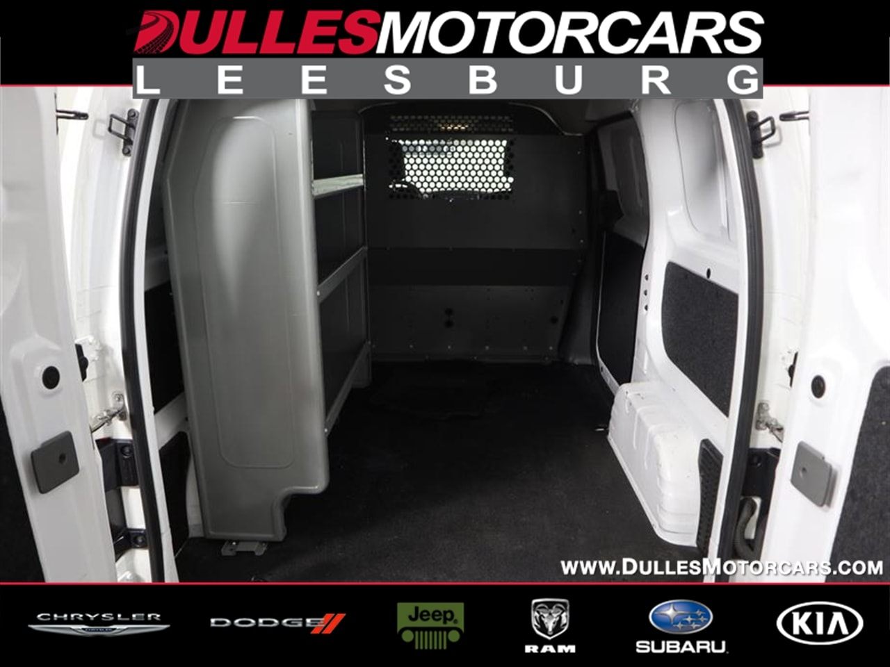 2017 Nissan NV200 4x2, Upfitted Cargo Van #J20156B - photo 1