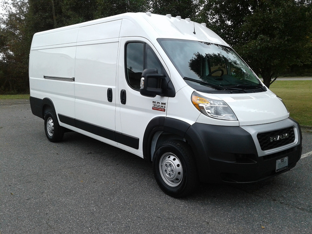 2019 ProMaster 3500 High Roof FWD,  Empty Cargo Van #10098 - photo 5