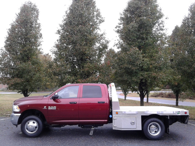 2018 Ram 3500 Crew Cab DRW 4x4,  Carolina Custom Products Platform Body #10180 - photo 3