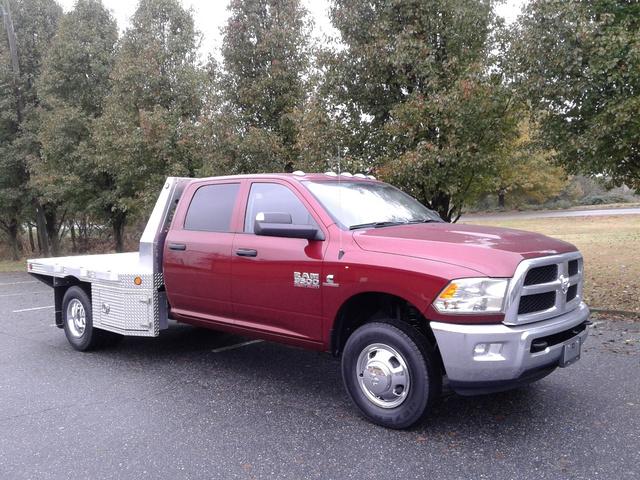 2018 Ram 3500 Crew Cab DRW 4x4,  Carolina Custom Products Platform Body #10180 - photo 5