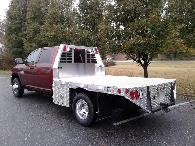 2018 Ram 3500 Crew Cab DRW 4x4,  Carolina Custom Products Platform Body #10180 - photo 2