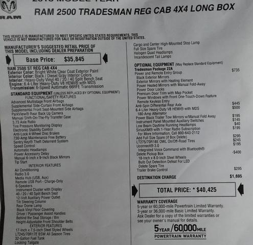 2018 Ram 2500 Regular Cab 4x4,  Knapheide Service Body #10554 - photo 31