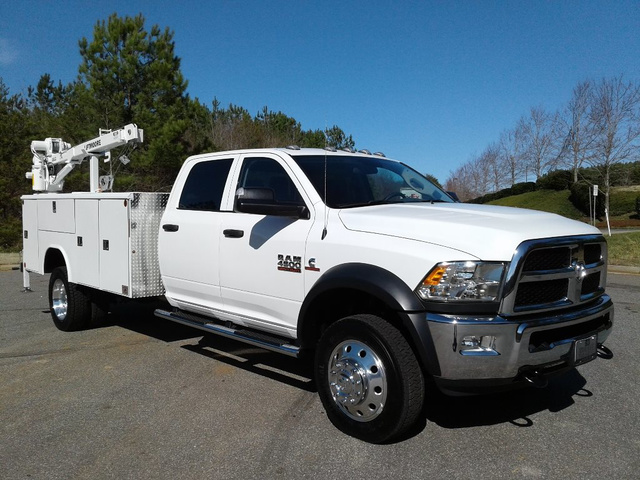 2018 Ram 4500 Crew Cab DRW 4x4,  Reading Mechanics Body #N9274X - photo 5