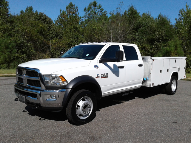 2018 Ram 4500 Crew Cab DRW 4x2,  Reading Service Body #N9723 - photo 1