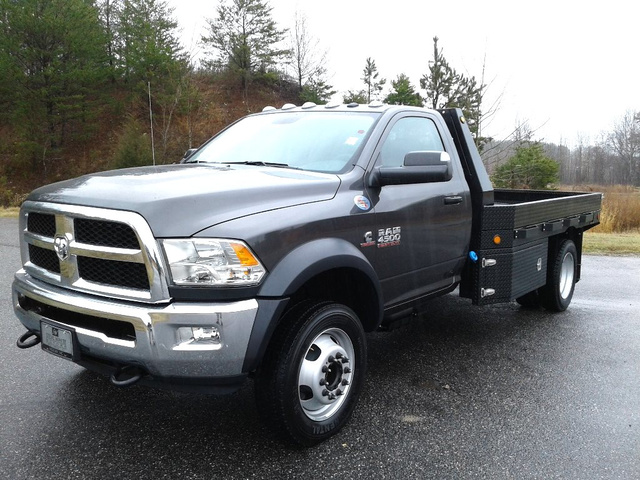 2018 Ram 4500 Regular Cab DRW 4x4,  Carolina Custom Products Platform Body #N9812 - photo 1