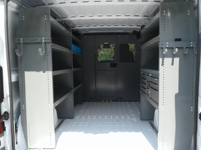 2018 ProMaster 1500 Standard Roof FWD,  Adrian Steel Upfitted Cargo Van #N9830 - photo 2