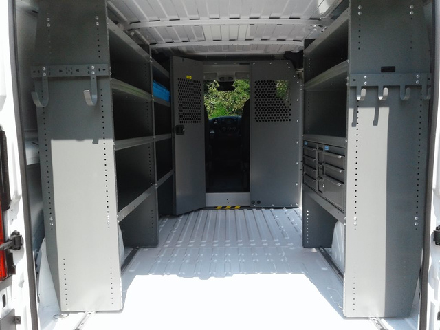 2018 ProMaster 1500 Standard Roof FWD,  Adrian Steel Upfitted Cargo Van #N9830 - photo 23