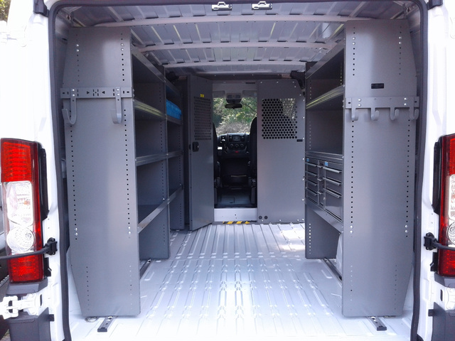 2018 ProMaster 1500 Standard Roof FWD,  Adrian Steel Upfitted Cargo Van #N9831 - photo 2