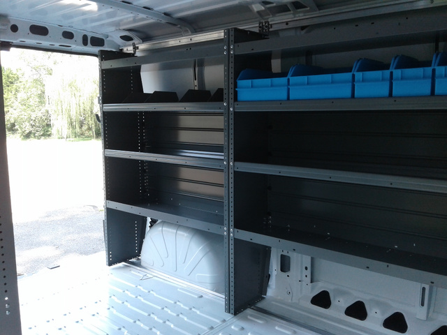 2018 ProMaster 1500 Standard Roof FWD,  Adrian Steel Upfitted Cargo Van #N9831 - photo 25