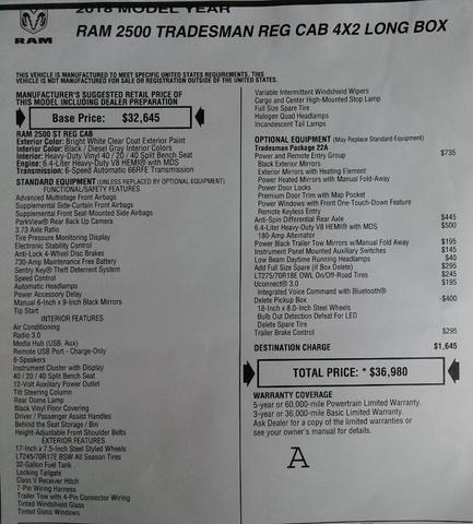 2018 Ram 2500 Regular Cab 4x2,  Knapheide Service Body #N9923 - photo 32