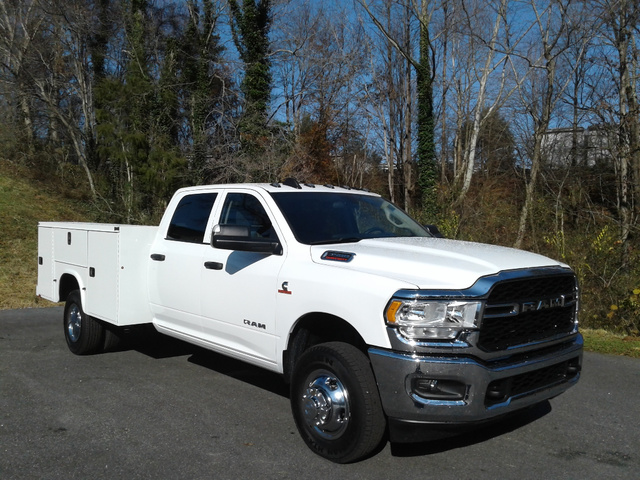 2020 Ram 3500 Crew Cab DRW 4x4, Knapheide Steel Service Body #S12817 - photo 10