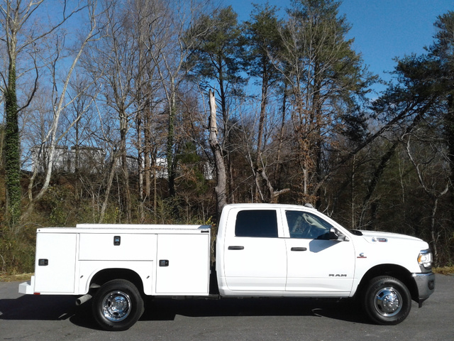 2020 Ram 3500 Crew Cab DRW 4x4, Knapheide Steel Service Body #S12817 - photo 12
