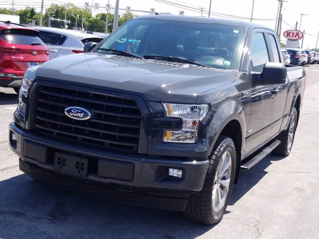 2017 Ford F-150 Super Cab 4x4, Pickup #MF0083N - photo 4