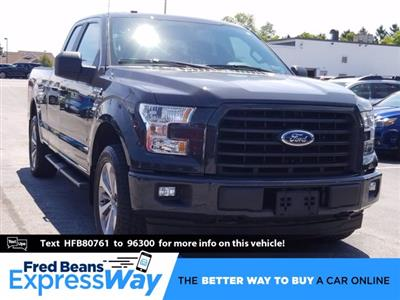 2017 Ford F-150 Super Cab 4x4, Pickup #MF0083N - photo 1