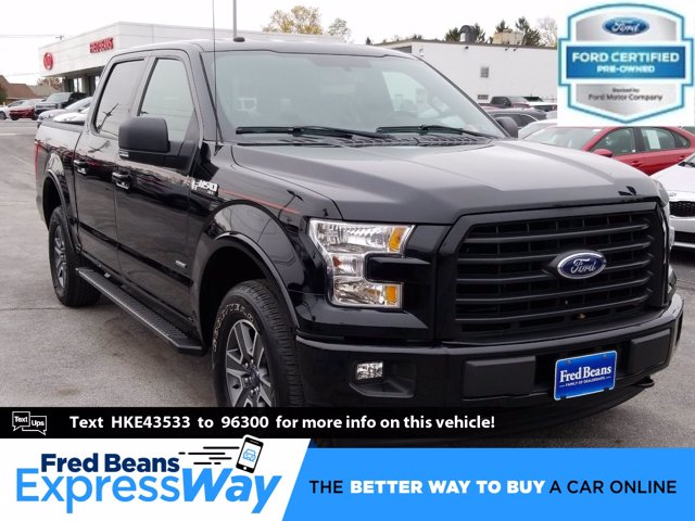 2017 Ford F-150 SuperCrew Cab 4x4, Pickup #MF0141N - photo 1
