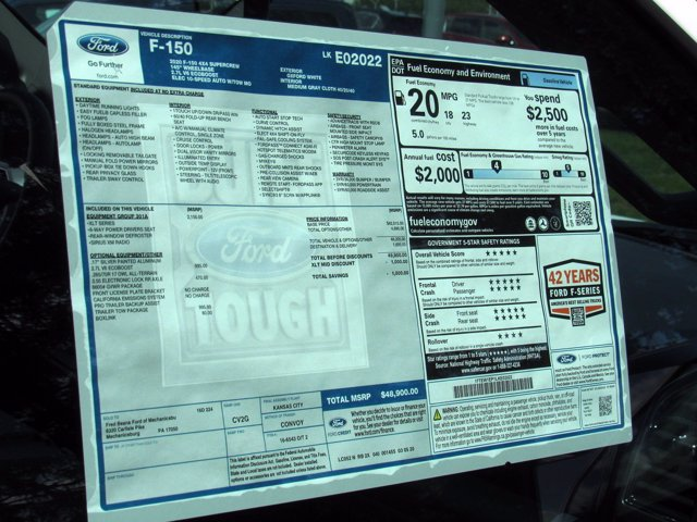2020 Ford F-150 SuperCrew Cab 4x4, Pickup #MF0402 - photo 16
