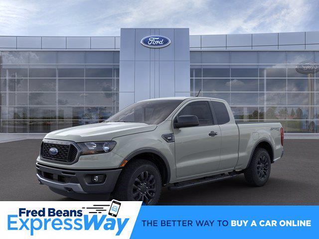 2021 Ford Ranger Super Cab 4x4, Pickup #MF1091 - photo 1