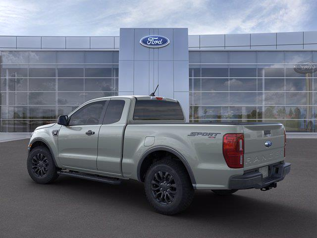 2021 Ford Ranger Super Cab 4x4, Pickup #MF1091 - photo 2
