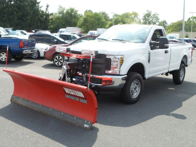 2019 F-250 Regular Cab 4x4,  Western Snowplow Pickup #MF9033 - photo 5
