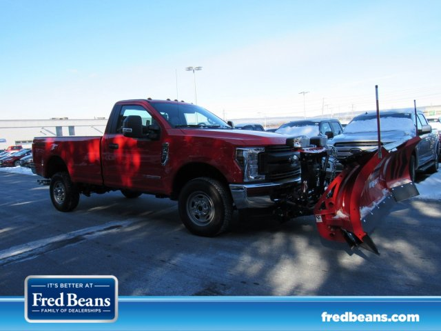 2019 F-350 Regular Cab 4x4,  Western Snowplow Pickup #MF9079 - photo 1