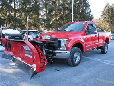 2019 F-350 Regular Cab 4x4,  Western Snowplow Pickup #MF9079 - photo 3