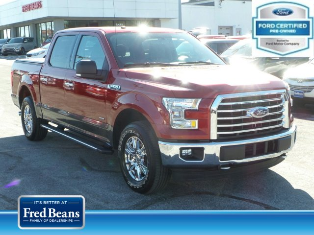 2017 F-150 SuperCrew Cab 4x4, Pickup #MF9130N - photo 1