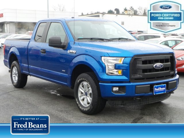 2016 F-150 Super Cab 4x4, Pickup #MF9155N - photo 1