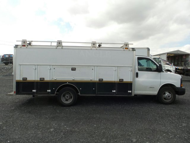 2014 Savana 4500 4x2,  Service Utility Van #MF9240A - photo 8