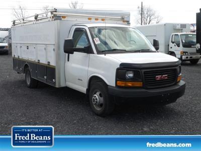 2014 Savana 4500 4x2,  Service Utility Van #MF9240A - photo 1