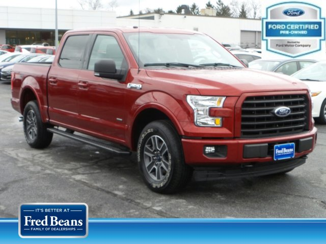 2017 F-150 SuperCrew Cab 4x4, Pickup #MF9496A - photo 1