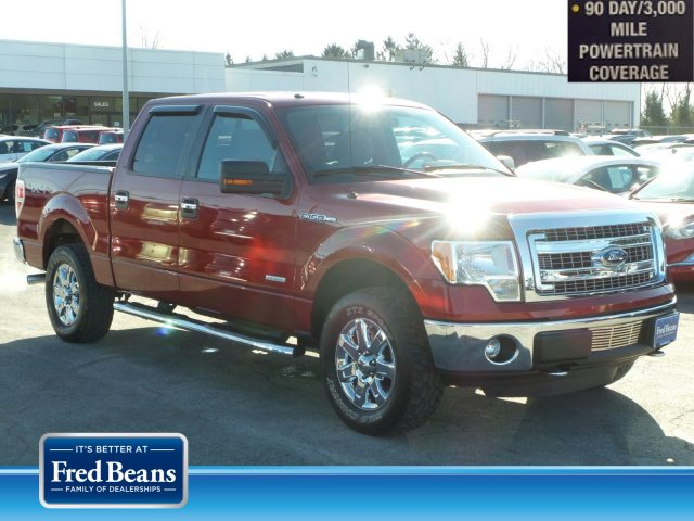 2013 F-150 SuperCrew Cab 4x4, Pickup #MF9711A - photo 1
