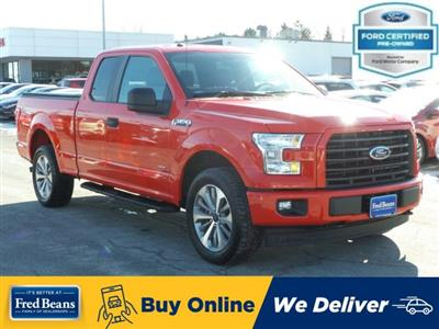 2017 F-150 Super Cab 4x4, Pickup #MF9823A - photo 1