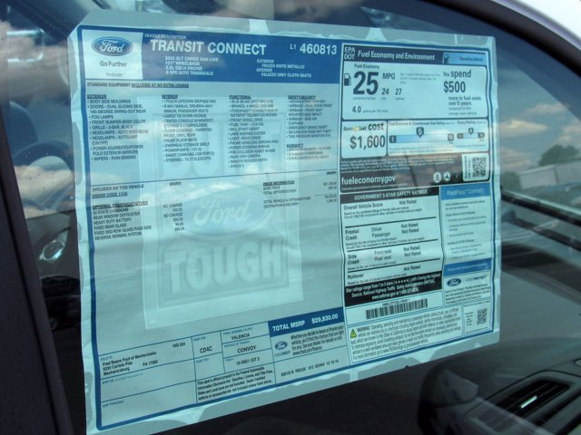 2020 Ford Transit Connect FWD, Empty Cargo Van #MFU0237 - photo 7