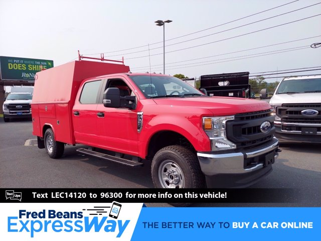 2020 Ford F-350 Crew Cab 4x4, Reading Panel Service Body #MFU0510 - photo 1