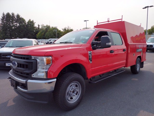 2020 Ford F-350 Crew Cab 4x4, Reading Panel Service Body #MFU0510 - photo 4