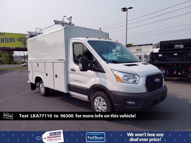 2020 Ford Transit 350 RWD, Reading Aluminum CSV Service Utility Van #MFU0540 - photo 1