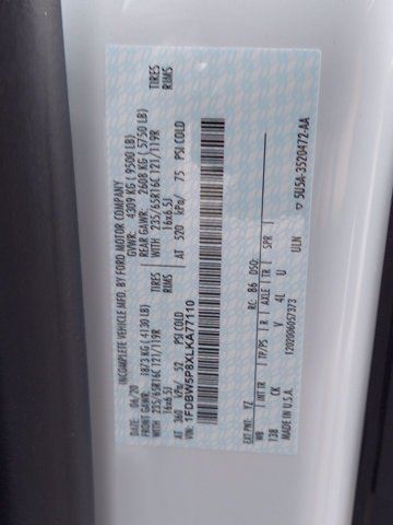 2020 Ford Transit 350 RWD, Reading Aluminum CSV Service Utility Van #MFU0540 - photo 13