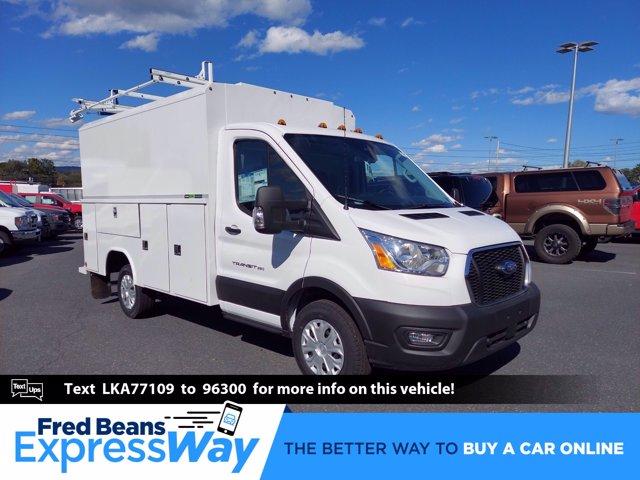 2020 Ford Transit 350 RWD, Reading Aluminum CSV Service Utility Van #MFU0570 - photo 1
