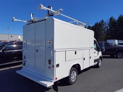 2020 Ford Transit 350 4x2, Reading Aluminum CSV Service Utility Van #MFU0570 - photo 2