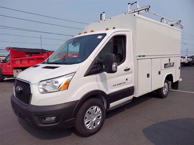 2020 Ford Transit 350 RWD, Reading Aluminum CSV Service Utility Van #MFU0587 - photo 3